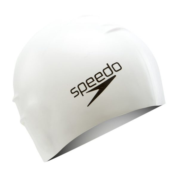Speedo Long Hair Silicone Swim Cap