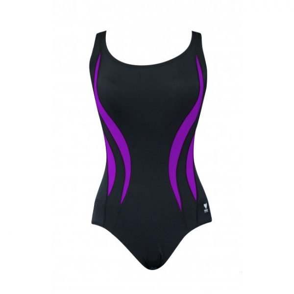 TYR Women's Alliance Splice Aqua Tank One Piece Swimsuit