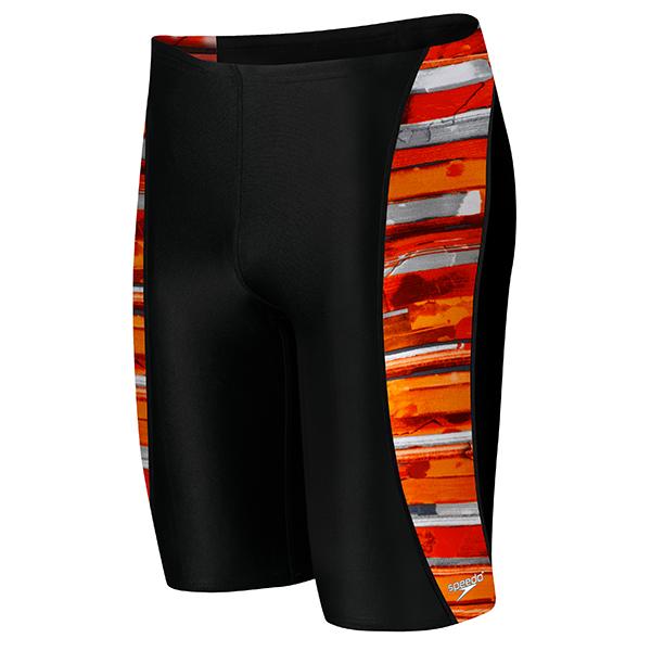 Speedo Men's Colour Stroke Jammer Swimsuit
