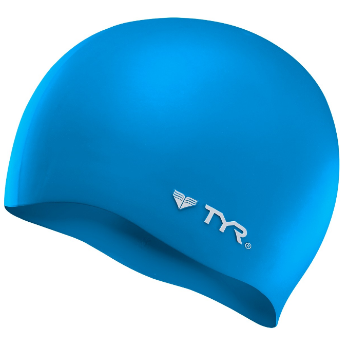 TYR Solid Silicone Swim Cap