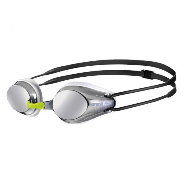 Arena Tracks Junior Mirrored Swim Goggles
