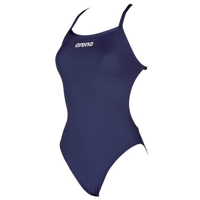 Arena Women's Solid Lightech High One Piece Swimsuit