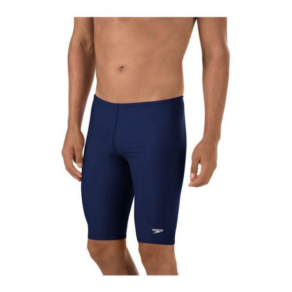 Speedo Men's Solid Jammer Endurance+ Swimsuit