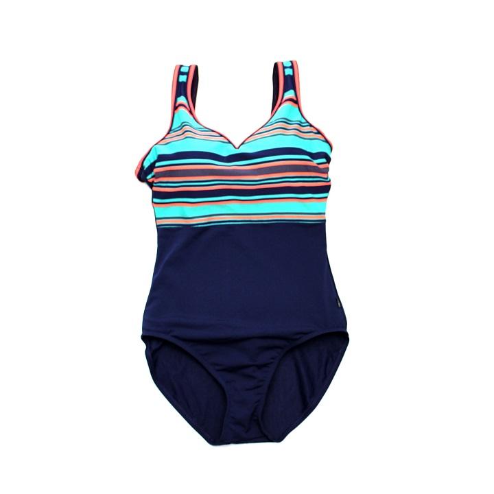 TYR Women's Delray V Neck V Back One Piece Swimsuit