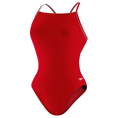 Speedo Women's Thin Strap One Piece Swimsuit