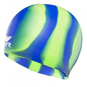 TYR Multicolour Silicone Swim Cap