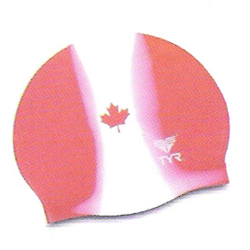 TYR Canada Silicone Swim Cap