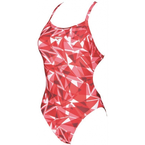 Arena Women's Shattered Glass Light Tech One Piece Swimsuit