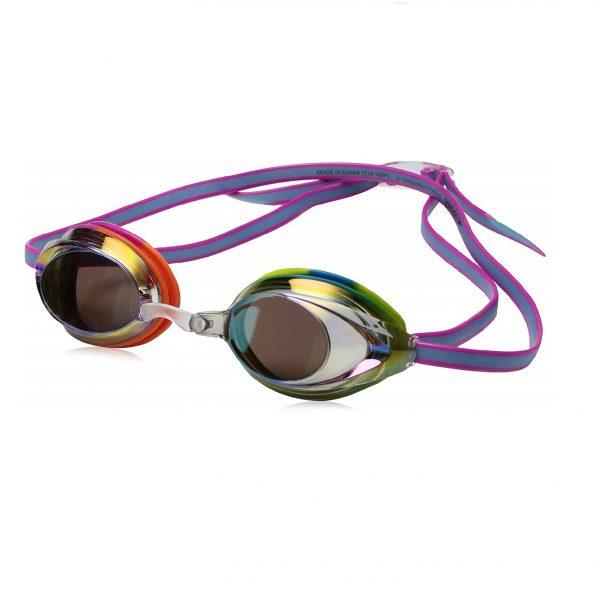 Speedo Jr. Vanquisher 2.0 Mirrored Swimming Goggles