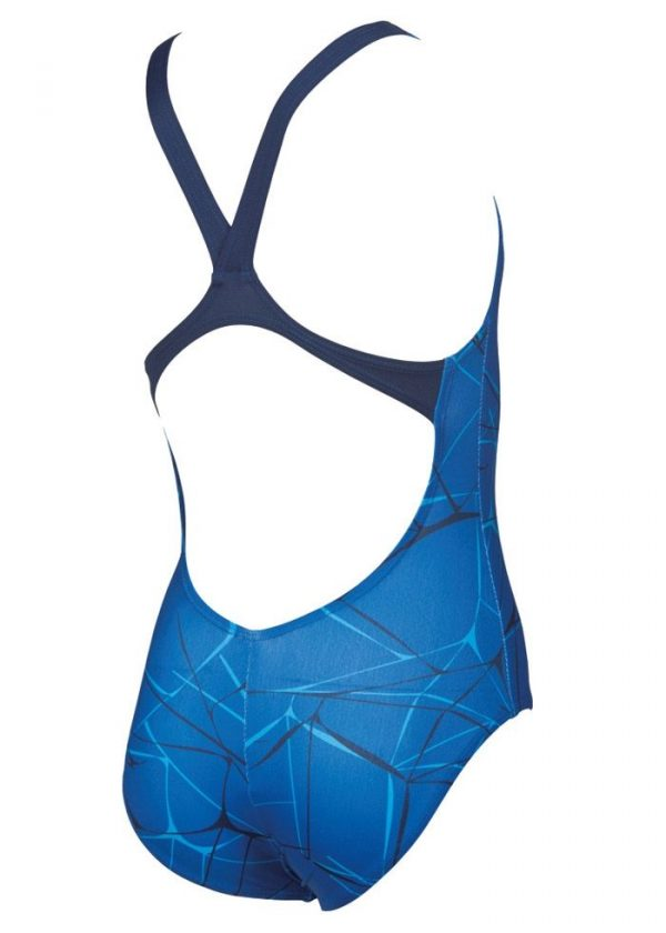 Arena Girl's Water Jr New V Back One Piece Swimsuit