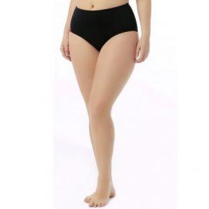 TYR Women's Solid High Waist Swim Bottom