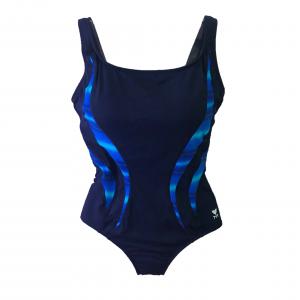 TYR Women's Blue Tramonto Splice Aquatank One Piece Swimsuit