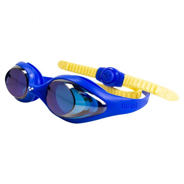 Arena Spider Jr. Mirrored Swim Goggles