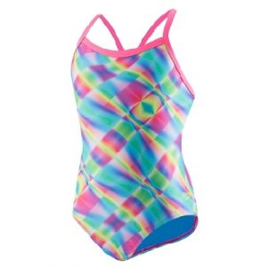 Speedo Women's Flipturn Propel Back Blue Swimsuit