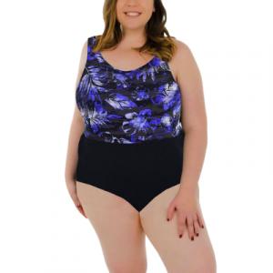 TYR Women's Boca Aqua Tank w/ Adjustable Straps One Piece Swimsuit