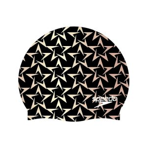 Speedo Elastometric Printed Silicone Swim Cap