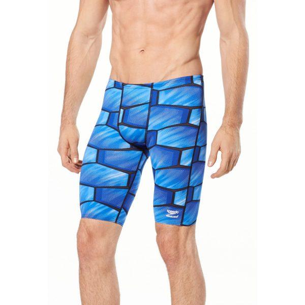 Speedo Men's Shell Shock Jammer Swimsuit
