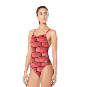Speedo Women's Shell Shock Flyback One Piece Swimsuit