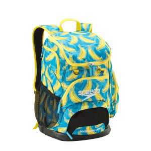 Speedo Banana Printed Teamster 35L Swim Backpack