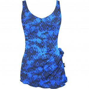 TYR Women's Arctic V-Neck V-Back One Piece Swimsuit