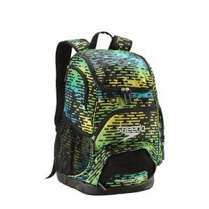 Speedo Blue Printed Teamster 35L Swim Backpack
