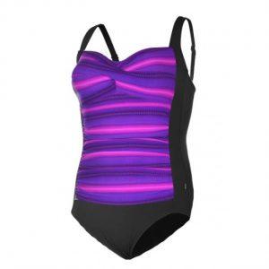 TYR Women's Tramonto Twist w/ Sheering Front One Piece Swimsuit