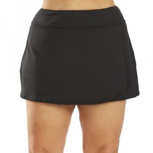 TYR Women's Solid Swim Skirt Swimsuit