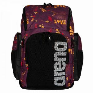 Arena Team 45 All Over Love Printed Backpack