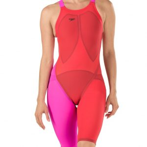 Speedo Women's LZR Elite 2 Open Back Comfort Strap Kneeskin - FINAL SALE