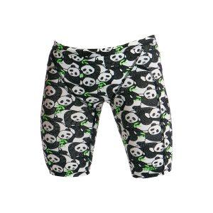Funky Trunks Men's Pandaddy Eco Training Jammer Swimsuit