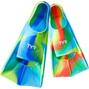 TYR Kid's Stryker Silicone Swimming Fins