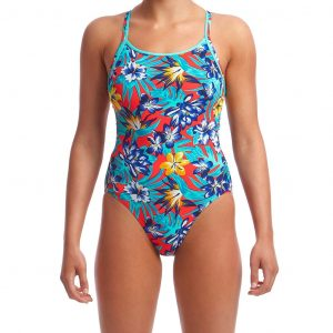 Funkita Women's Aloha from Hawaii Diamond Back One Piece Swimsuit