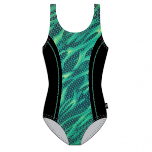 TYR Women's Reaper Aqua Tank Front Print One Piece Swimsuit