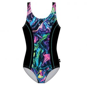 TYR Women's Penello Aqua Tank Front Print One Piece Swimsuit