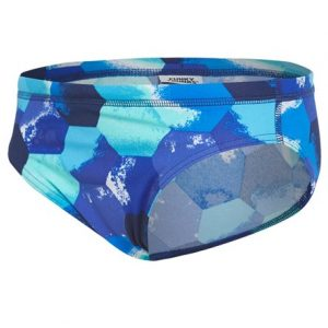 Funky Trunks Men's Hexagon Brief Swimsuit