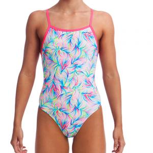 Funkita Women's Palm Springs Tie Me Tight One Piece Swimsuit