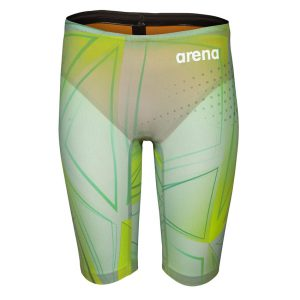 Arena Men's Powerskin R-Evo Green Glass Limited Edition Jammer