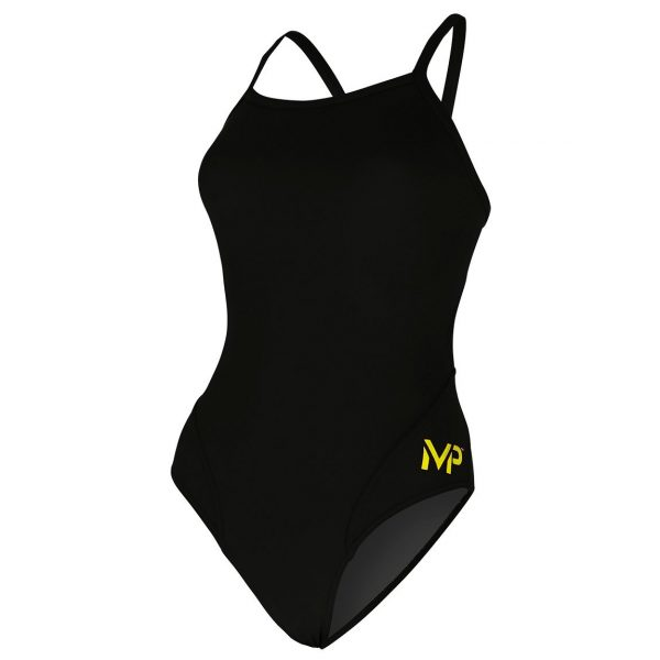 MP Women's Mid Back Solid Swimsuit FINAL SALE