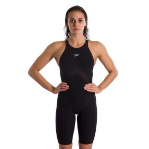 Speedo Women's Fastskin Pure Valor Black Closed Back Kneeskin