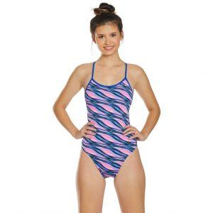 TYR Women's Adrift Crosscutfit Tieback One Piece Swimsuit