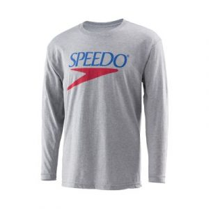 Speedo Vintage Logo Long Sleeve Shirt