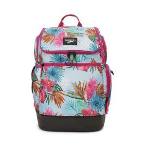 Speedo Tropical Floral Teamster 2.0 Swim Backpack