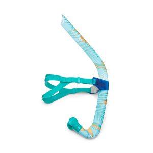 Speedo Tropical Printed Bullet Head Swim Snorkel