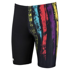 Arena Men's Painted Stripes Jammer Swimsuit