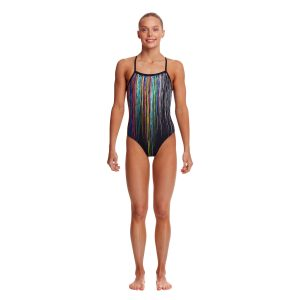 Funkita Girl's Drip Funk Strapped in One Piece Swimsuit