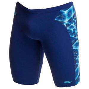 Funky Trunks Men's Another Dimension Jammer Swimsuit