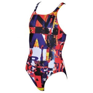 Arena Girl's Instinct Jr One Piece Swimsuit
