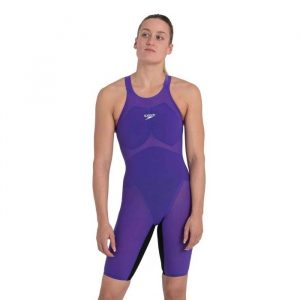 Speedo Women's Fastskin Pure Valor Ultra Violet Open Back Kneeskin