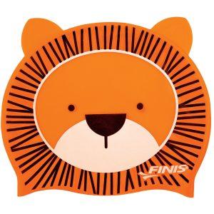 Finis Animal Heads Lion Jr. Silicone Swim Cap