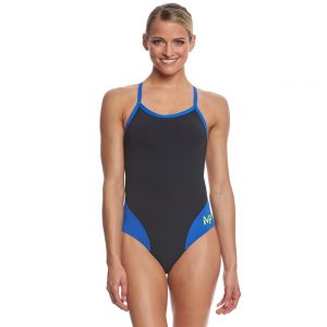 MP Women's Mid Back Splice Swimsuit FINAL SALE
